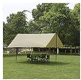 L&Z Hamac Rain Fly Tente Bâche/Étanche Coupe-Vent Anti-Neige Camping Abri/Portable300 * 300 * 200Cm