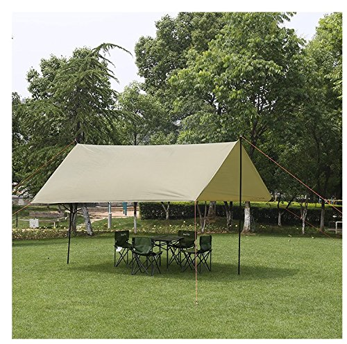 L&Z Wasserdicht Zeltplanen Sonnensegel Markise Vorzelt Zelt 300 * 300 * 200Cmwandern Picknick Angeln Garten (Pavillon Portable)