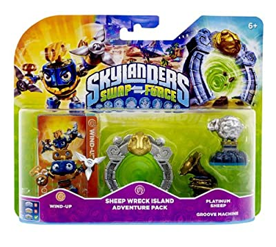 Skylanders Swap Force - Adventure Pack - Sheep Wreck Island (PS4/Xbox 360/PS3/Nintendo Wii/3DS) from Activision