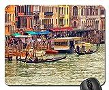 Gran canal en Venecia por el hotel marconi cojín de ratón, Mousepad (rascacielos cojín de ratón)
