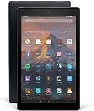 Fire HD 10-Tablet, Zertifiziert und generalüberholt, 1080p Full HD-Display, 64 GB, schwarz, mit Spezialangeboten (vorherige