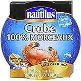 Nautilus Crabe 100% Morceaux 103 g - Lot de 2