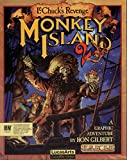 Monkey Island 2 (14inch x 18inch / 35cm x 44cm) Silk Print Poster - Silk Printing - F7F791