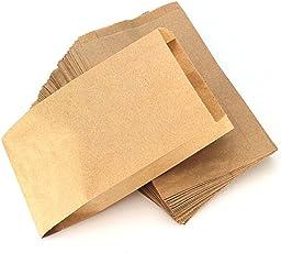 Ruby Natürliche Farbe Kraftpapier Taschen Süßigkeiten Geschenk Taschen für Hochzeit Party Taschen Essen Taschen