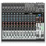 Behringer XENYX X2222USB mezclador DJ - Mezclador para DJ (24 Bit, 43 cm,