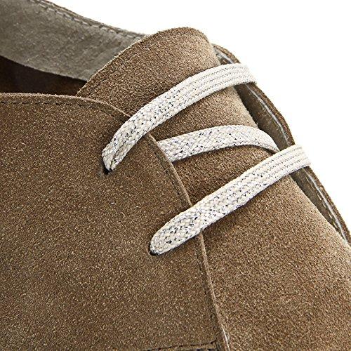 Alesya Scarpe & Scarpe - Sneakers Stringate Lurex Beige