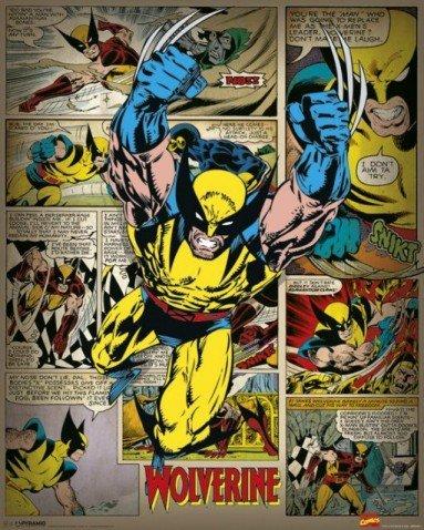 posters-wolverine-mini-poster-x-men-marvel-comics-50-x-40-cm