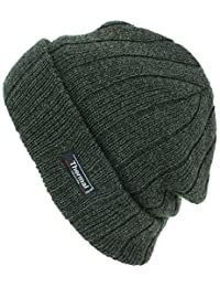 Thinsulate Fine Knit Marl Beanie Hat with Thermal Lining