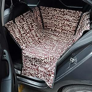 tanche arri re chien chat si ge auto voiture lit couverture animaux chien de transport voiture. Black Bedroom Furniture Sets. Home Design Ideas