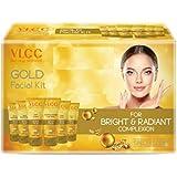 VLCC Facial Kits (VLCC Gold Facial Kit 300 gm + FREE Rose Water Toner 100ml)