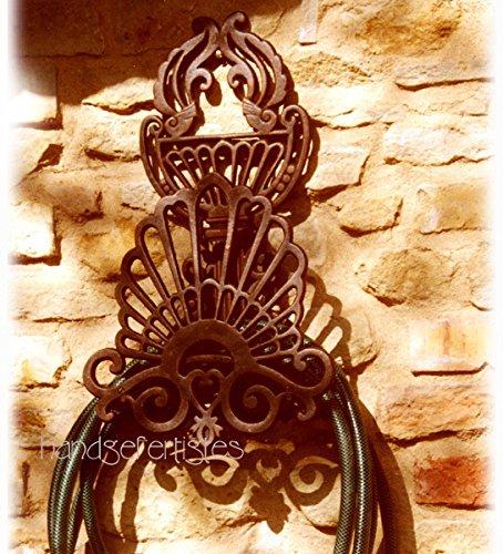 Antikas - Schlauchhalter, Halterung, für den Gartenschlauch, im Jugendstil, Gartenschlauch