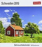 Schweden - Kalender 2019: Sehnsuchtskalender, 53 Postkarten