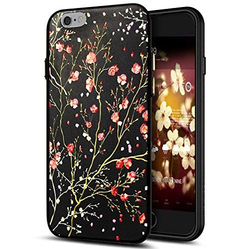 Cover iPhone 6S Plus,Cover iPhone 6 Plus,Custodia iPhone 6S Plus / iPhone 6 Plus Cover,ikasus® Cover custodia per iPhone 6S Plus / 6 Plus disegno colorato TPU con 3d arte pittura floreale fiore fiori  Fiore #2