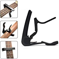 Juarez Professional Metal Capo JRZ300 Black for Guitars, Ukuleles