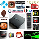 Sonnics Quad Core Android 4.4 Kitkat XBMC Mini PC & TV Box with Full HD 1080P 1GB DDR3 / 8GB NAND Flash /CPU Amlogic S805, 1.5 GHz