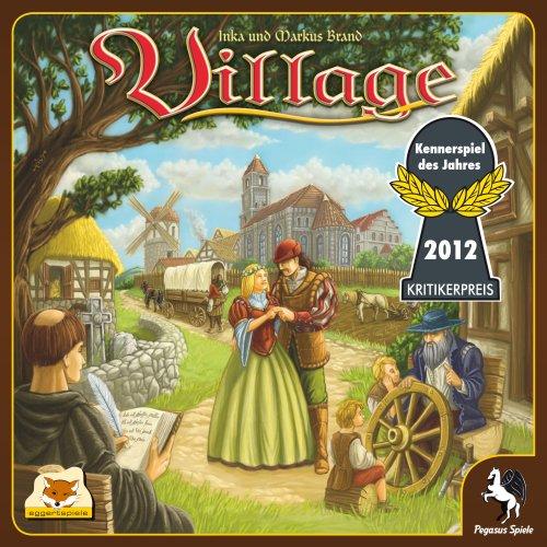 Preisvergleich Produktbild Pegasus Spiele 54510G - Village (deutsch/englische Ausgabe), Kennerspiel des Jahres 2012