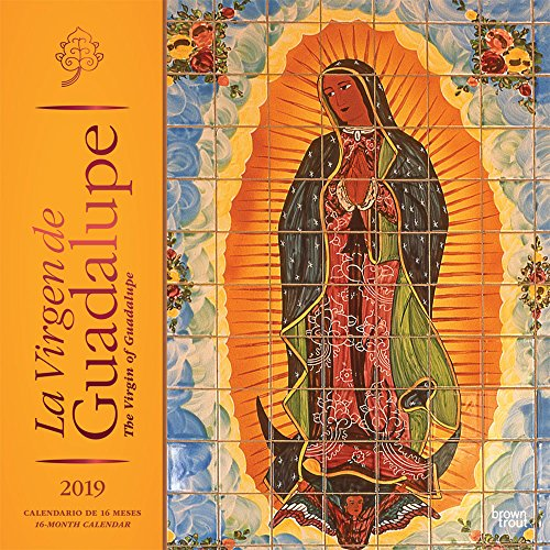 La Virgen de Guadalupe 2019 Square Spanish English Foil