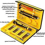 MECO 38 en 1 Destornillador de Precisión Kit de Herramientas Juego de Reparación Profesional para iPad, iPhone, tableta, PC, MacBook, Apple, Teléfonos inteligentes, Móviles y Otros Dispositivos