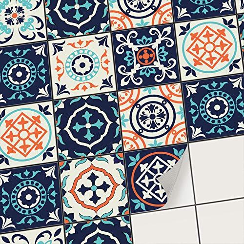 creatisto Fliesenaufkleber Fliesenfolie Mosaikfliesen - Aufkleber Folie für Fliesen | Klebefliesen Deko Folie für Fliesen in Küche u....
