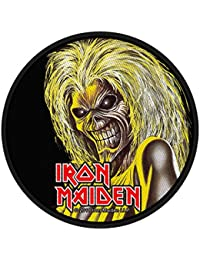 Classic rock guitar iron maiden coutures-killers face classic rock guitar iron maiden patch-tissé & licence!