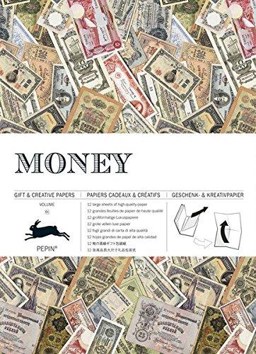 Money: Geschenk- und Kreativpapierbuch Vol 61 (Giant Artists Colouring Books) por Pepin Van Roojen