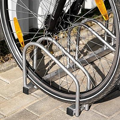 TecTake Fahrradständer für Fahrräder Fahrradparker Bike Fahrrad Ständer Rad außen - diverse Modelle -