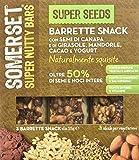 Somerset Super Seeds - Pacco da 3 Barrette Snack X 105 G