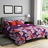 RAGO RELISH ABSTRACT LEAVES PURPLE AND R...