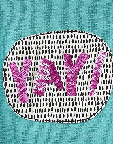Joules Screen Print Sweatshirt - Cool Green Yay - 3 years - 98 cm
