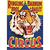 Fabulous Poster Affiche Circus Cirque Tiger Tigre Affiches