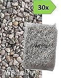 Ghiaino tondo di fiume 4/16mm - 30 sacchi da 25 kg - sassi ghiaia graniglia