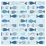 Serviette'Viele Fische' 20 Stück