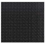 Gummiläufer Tränenblech - 10 Größen wählbar/Materialstärke: 3mm - Breite: 150cm