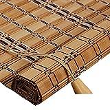 WUFENG Bambus Rollo Schattierung Schatten Isolierung Chinesisch-japanischer Stil Abgeschnitten Teehaus Wohnzimmer Rolltor Umweltschutz Geschmacklos Türvorhang (Farbe : D, größe : 120x180cm)