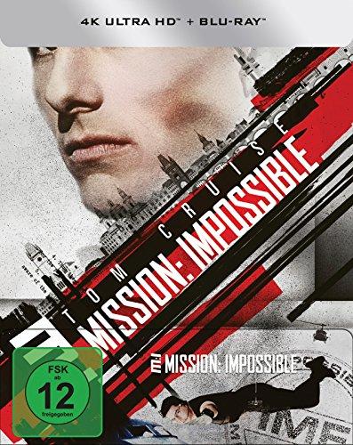Mission: Impossible - (4K Ultra HD) (+ Blu-ray) limitiertes Steelbook (exklusiv bei Amazon.de) (Hd-dvd)