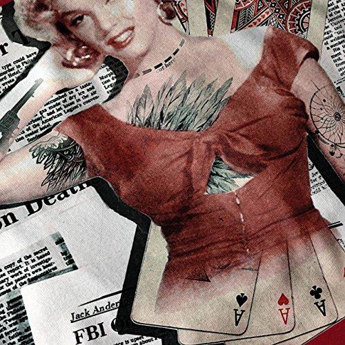 Monroe As Diva Berühmtheit Kasino Leben Damen S-2XL Muskelshirt | Wellcoda Rot