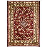 HLS Teppiche sehr groß, klassisch Orientalisches Design Persian-Stil Blumen traditionellen Teppiche/Matte, rot–160x 230cm