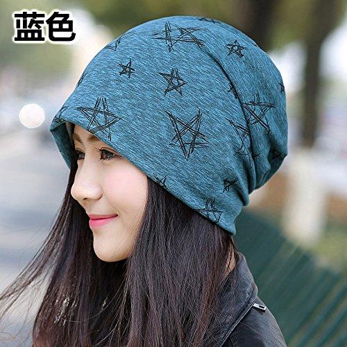 Les enfants cor¨¦ens kit sauvage t¨ºte ¨¤ chapeau Baotou femmes enceintes,mar¨¦e basse cap cap cap turban heap heap heap,les bouchons sont code(56-58cm),Bleu Blue