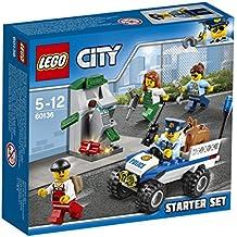 LEGO - 60136 - City - Jeu de construction  -  Ensemble de Démarrage de la Police