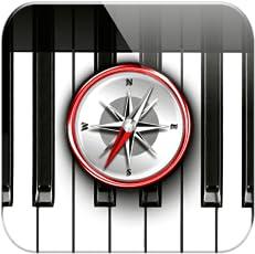 Piano Chords Compass/Die Akkorde für das Klavier