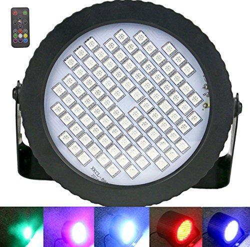 Disco Licht 88 LED, Latta Alvor Mini Discokugel Licht DMX512 RGB Stroboskop Partylicht Strobe Lampe Dj Bühnenbeleuchtung Musik Lichteffekt (color)