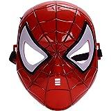 morningsilkwig máscara Spiderman cómics Traje superhéroe máscara de Ojos Marvel Spiderman héroe niños' Spiderman máscara Bril