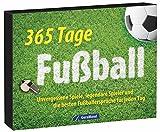 Tischkalender Fußball: Ein immerwährender Kalender mit unvergessenen Spielen, legendären Spielern und den besten Fußballsprüchen. 356 Tage Fußball - das perfekte Geschenk für jeden Fußballfan.