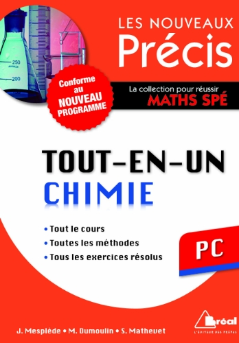 Chimie PC - Nouveau programme 2014