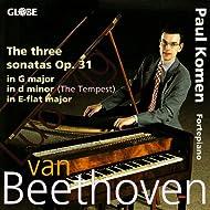 Beethoven: The Three Sonatas Op. 31