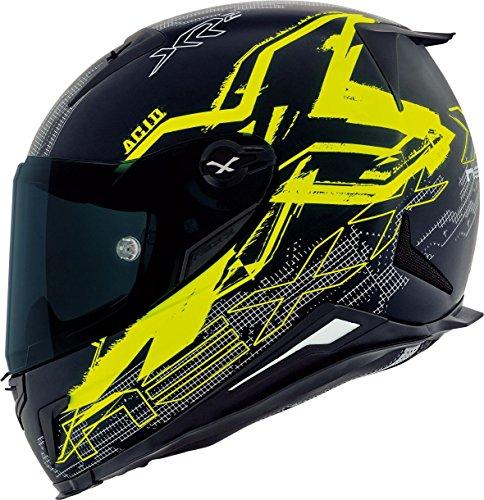 Preisvergleich Produktbild NEXX X.R2 ACID matt schwarz / neon gelb M