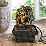 #5: TIED RIBBONS Table Top Lord Krishna Water fountain for home decor gifts home decoration indoor living room decorative item waterfall waterfall decorative item