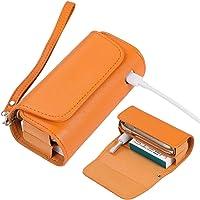 ZITFRI Custodia Protettiva per Sigarette Elettroniche, Compatibile con Iqos 3 e Iqos 3 Duo, Astuccio in Tela e Pelle PU…