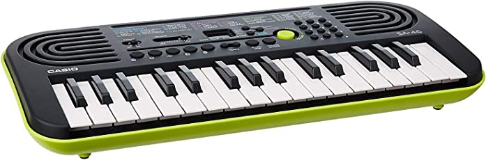 Casio Portable Electronic KeyBoard SA-46A with Free Adaptor worth INR 300