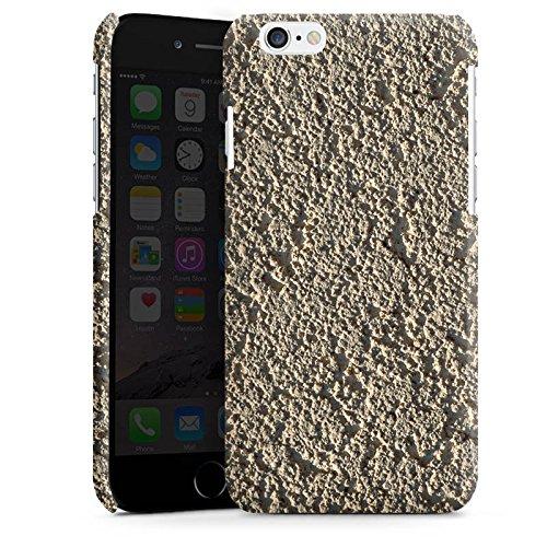 Apple iPhone 4 Housse Étui Silicone Coque Protection Béton Mur Motif structure Cas Premium brillant